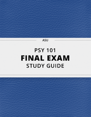 PSY 101 Study Guide - Comprehensive Final Guide: Dopamine Antagonist, Peripheral Nervous System, Classical Conditioning