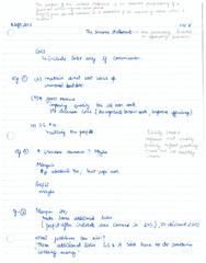 ENG M401 Lecture Notes - Lecture 5: Cash Flow
