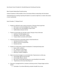 EPSY 341 Lecture Notes - Lecture 2: Learning Environment