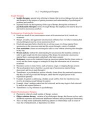 PSYC 1000 Chapter 16.2: PSYC*1000 - 16.2