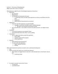 PSYC 4010 Lecture Notes - Lecture 2: Cognitive Map, Inventory Control, Proto-Balto-Slavic Language
