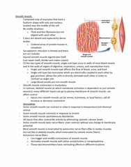 BIOL 1117 Midterm: Anatomy and Physiology exam 3