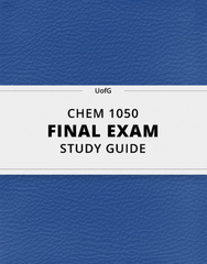 [CHEM 1050] - Final Exam Guide - Ultimate 96 pages long Study Guide!
