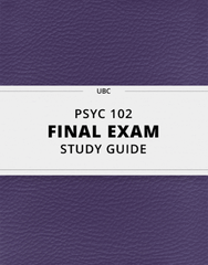 PSYC 102 Study Guide - Comprehensive Final Guide: Anxiety Disorder, Fluoxetine, Electroconvulsive Therapy