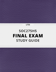 SOC275H5 Study Guide - Comprehensive Final Guide: Tokenism, Gender Binary, Indian Anna