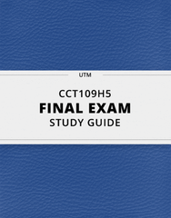 CCT109H5 Study Guide - Comprehensive Final Guide: Massively Multiplayer Online Role-Playing Game, Participatory Media, Movie Theater