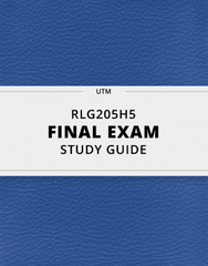 RLG205H5 Study Guide - Comprehensive Final Guide: Atharvaveda, Yajurveda, Samaveda