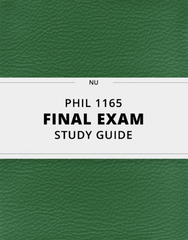 PHIL 1165 Study Guide - Comprehensive Final Guide: Fiduciary, Palliative Care, Assisted Suicide