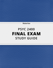 PSYC 2400 Study Guide - Comprehensive Final Guide: Offender Profiling, James Mckeen Cattell, Polygraph