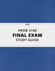 HROB 3100 Study Guide - Comprehensive Final Guide: Creative Problem-Solving, Synectics, Creativity