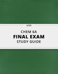 [CHEM 6A] - Final Exam Guide - Comprehensive Notes for the exam (90 pages long!)