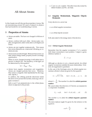 Textbook Guide Physics: Electric Light, Electron Configuration, Magnetic Quantum Number