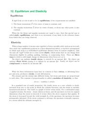 Textbook Guide Physics: Shear Modulus, Modulus Guitars, Momentum