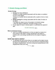 Textbook Guide Physics: Conservative Force, Radar Gun, Net Force