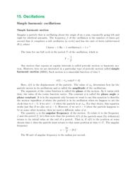 Textbook Guide Physics: Angular Frequency, Rogatio, Kilogram