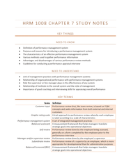 HRM1008 Chapter Notes - Chapter 7: Job Performance, Management System, Emotional And Behavioral Disorders