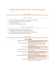 HRM1008 Chapter Notes - Chapter 8: Market Basket, European Cooperation In Science And Technology, Plans