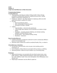 CS202 Chapter Notes - Chapter 12: Sexual Arousal