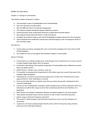BIOB50H3 Lecture Notes - Lecture 17: Indian Ocean, Secondary Succession, Primary Succession