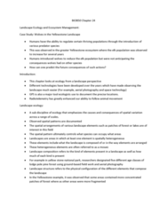 BIOB50H3 Lecture Notes - Lecture 24: Habitat Fragmentation, Digital Image, Adaptive Management