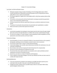 BIOB50H3 Lecture Notes - Lecture 23: Population Viability Analysis, Extinction Vortex, Habitat Fragmentation