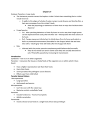 BIOB50H3 Lecture Notes - Lecture 14: Difficult People, Parasitic Plant, Ecosystem Engineer
