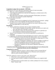 BIOB50H3 Lecture Notes - Lecture 12: Semibalanus Balanoides, Ecological Niche, Chthamalus Stellatus