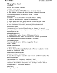 SOCIOL 2S06 Study Guide - Midterm Guide: Friedrich Engels, The Communist Manifesto, Class Conflict