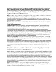HLTH 237 Study Guide - Final Guide: Opioidergic, Neuroplasticity, Tegmentum