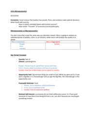ECON 10223 Study Guide - Quiz Guide: Huawei, Economic Equilibrium, Ceteris Paribus