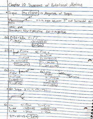 PHY 122 Lecture 12: Chapter 11 Notes and Examples
