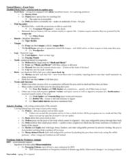 BIOL 1902 Final: Natural History – Exam Notes