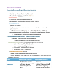 ECON 2023 Lecture Notes - Lecture 15: Behavioral Economics, Observational Error, Rationality