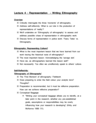 CRIM 3652 Lecture Notes - Lecture 4: Ethnography, Neoliberalism