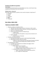 SOC201H1 Lecture Notes - Lecture 5: Stoicism, Industrial Revolution, Alexis De Tocqueville