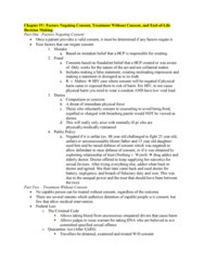 Health Sciences 3101A/B Lecture Notes - Lecture 4: Fiduciary, Fundamental Justice, Infection