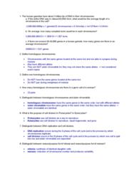 BIOL308 Study Guide - Final Guide: Sister Chromatids, G1 Phase, G2 Phase