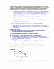 BIOL308 Study Guide - Final Guide: Dna Supercoil, Top1, Dna Replication