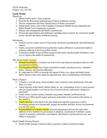 canadian community health nursing standards of practice