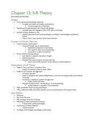 PSYC 370 Chapter Notes - Chapter 12: John Dollard, Heinz Hartmann, Neal E. Miller