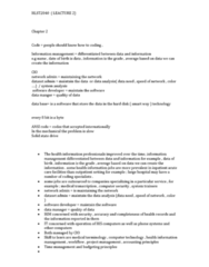 ITEC 1000 Lecture Notes - Lecture 1: Medical Transcription, Healthcare Common Procedure Coding System, Adobe After Effects