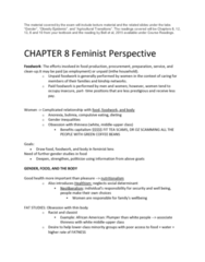SOC 808 Study Guide - Final Guide: Biofuel, Wage Labour, Family Farm