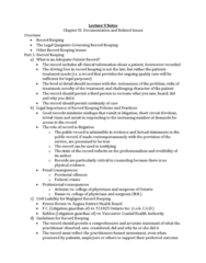 Health Sciences 3101A/B Chapter Notes - Chapter 8: Microform, Retention Period, Personal Information Protection And Electronic Documents Act