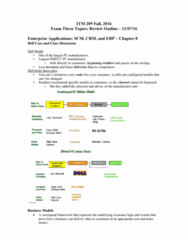 ITM 309 Study Guide - Final Guide: Accounts Receivable, Scope Creep, Deep Learning