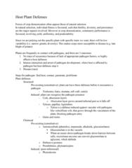 Biology 4218A Lecture Notes - Lecture 12: Quantitative Trait Locus, Suberin, Vacuole
