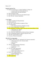 HIST 8B Lecture Notes - Lecture 10: Fulgencio Batista, Julio Antonio Mella, Gerardo Machado