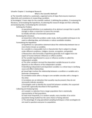 SOC 100 Chapter Notes - Chapter 2: Operational Definition, Ethnography, Content Analysis