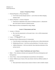 PHY 131 Study Guide - Final Guide: Phosphorus Pentoxide, Mass Spectrometry, Chemical Formula