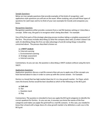 Mar 3023 midterm marketing exam 1 study guide oneclass solutioingenieria Image collections