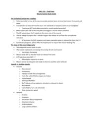 KNES 259 Study Guide - Final Guide: Myoglobin, Agonist, Golgi Tendon Organ
